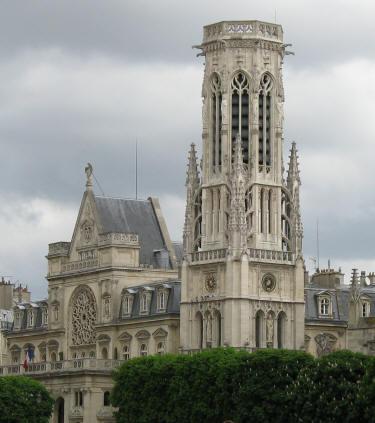 St Germain L Auxerrois Cathedral In Paris Ile De France